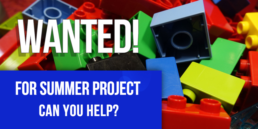 Lego bricks wanted - Rhys Jones Community Centre Liverpool