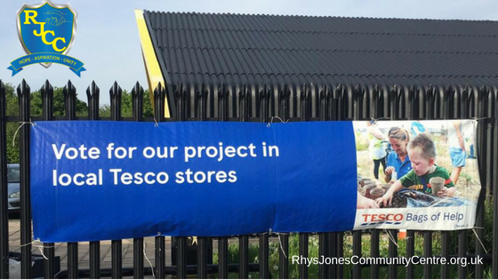 Tesco Bags of Help - Rhys Jones Community Centre Liverpool