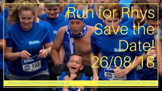 2018 Run for Rhys fun run Croxteth Hall Park, Liverpool