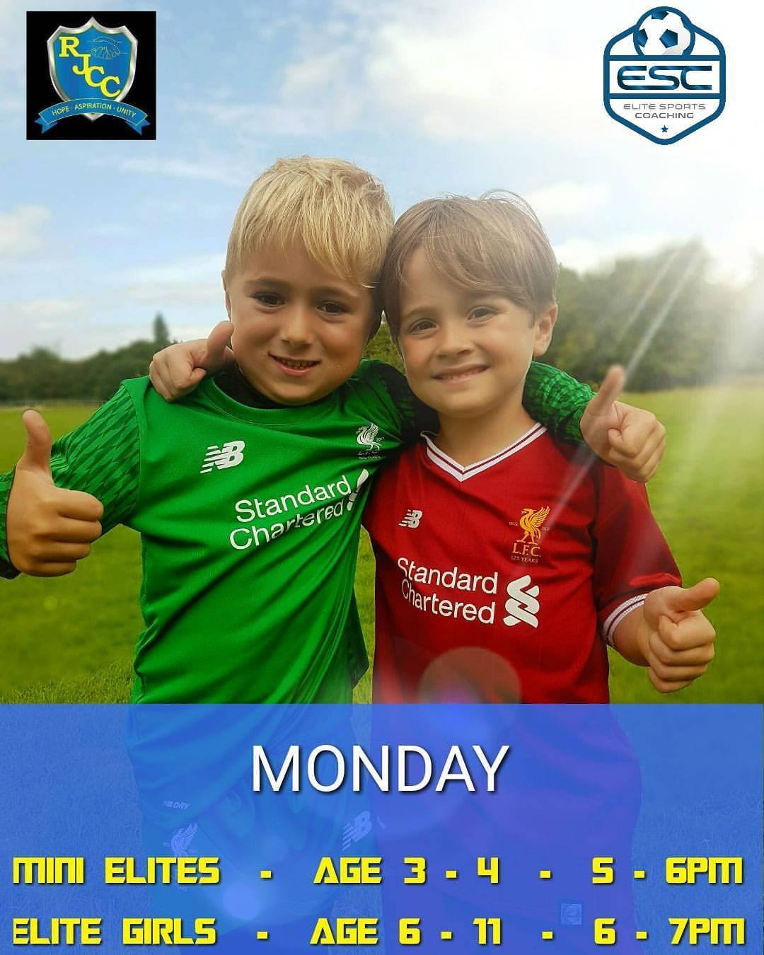 Mini Elites football at Rhys Jones Community Centre Liverpool