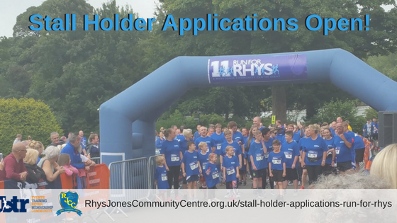 Stall Holder Applications Now Open! – Run For Rhys 2018 Liverpool