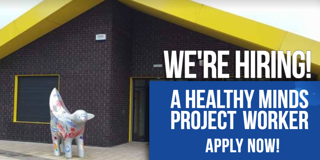 We're Hiring! Healthy Minds Project Worker Croxteth Park Liverpool