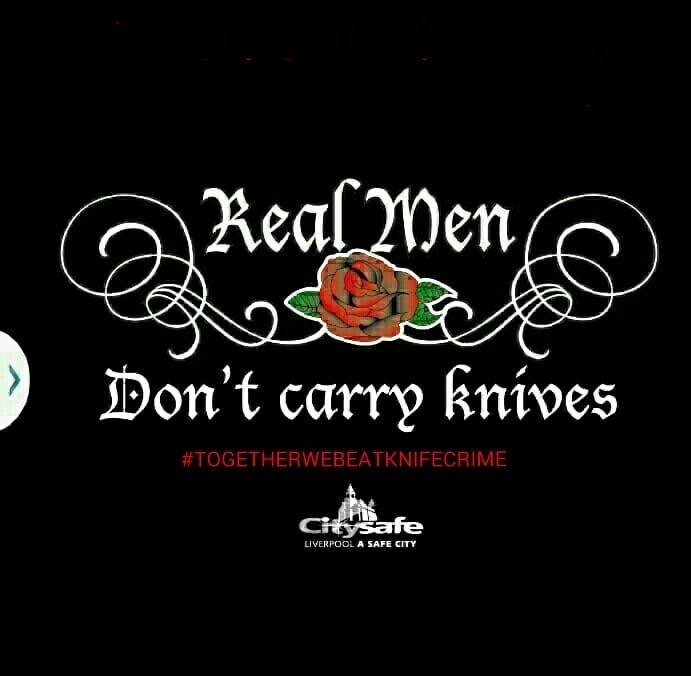 #RealMenDontCarryKnives #P4C