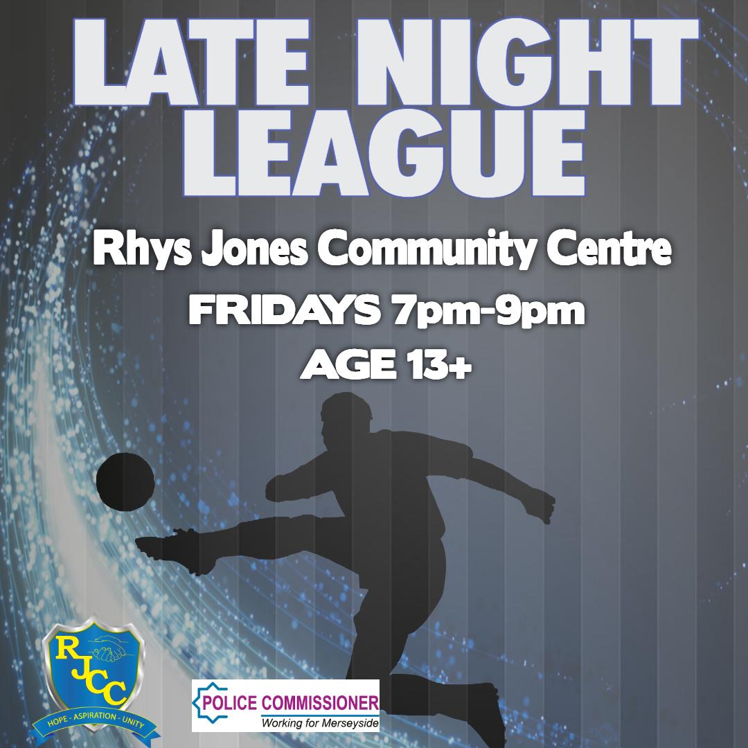 Teen football Rhys Jones Community Centre