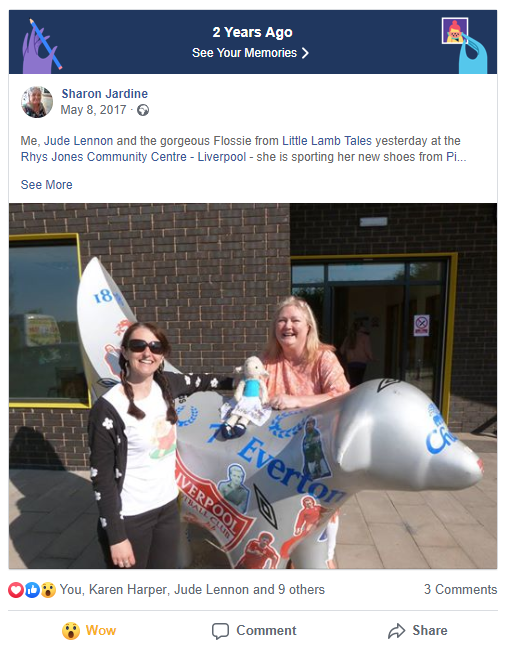 Rhys Jones Community Centre Launch Facebook memory