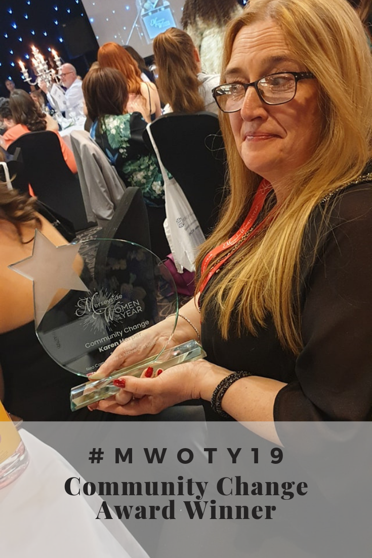 #MWOTY19 Community Change Award Winner