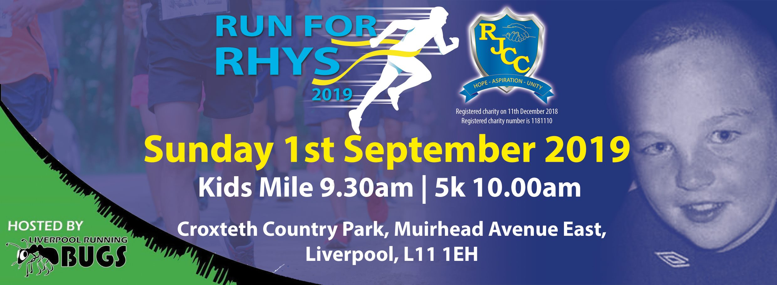 Run for Rhys 2019 Legacy Event