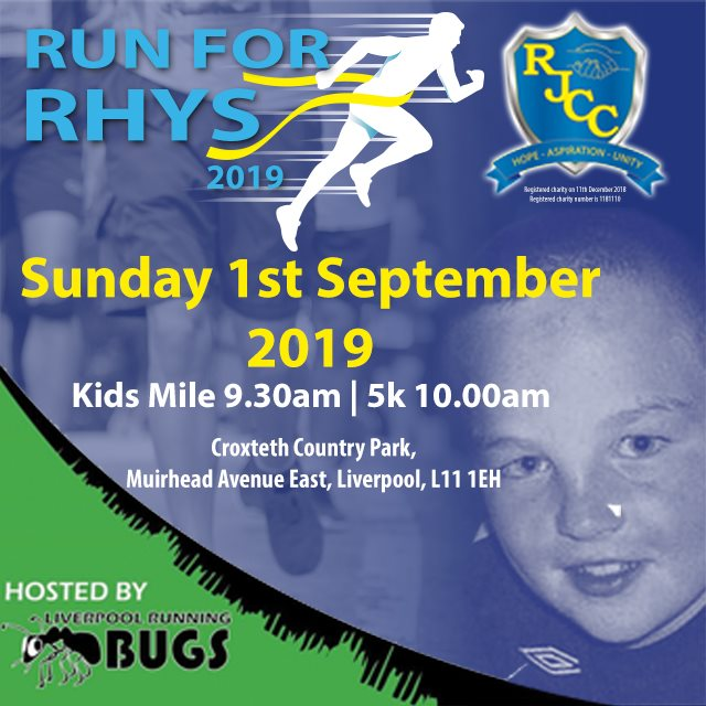 Run for Rhys Legacy Event 2019